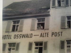 Our hotel in Spaiichingen