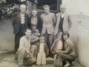 With Dad's relatives