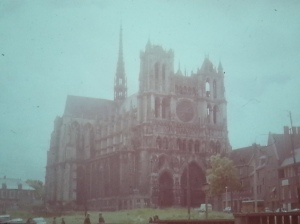 Gothic Church Amiens, Italy