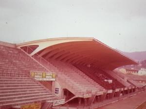 Nervi's soccer stadium in Rome