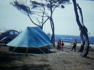 Campsite in Barcelona