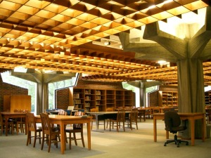 Eden Library Interior